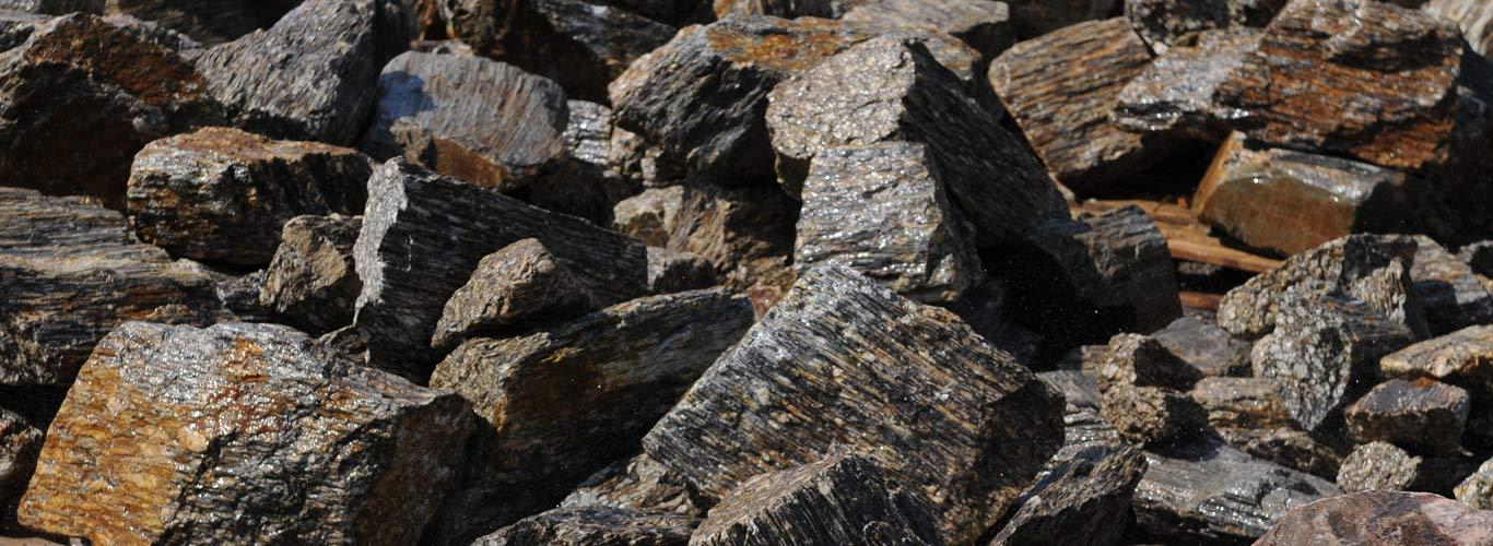 Kamienie łupane. Kora Kamienna duza głazy MIGROLA lubelskie Lublin