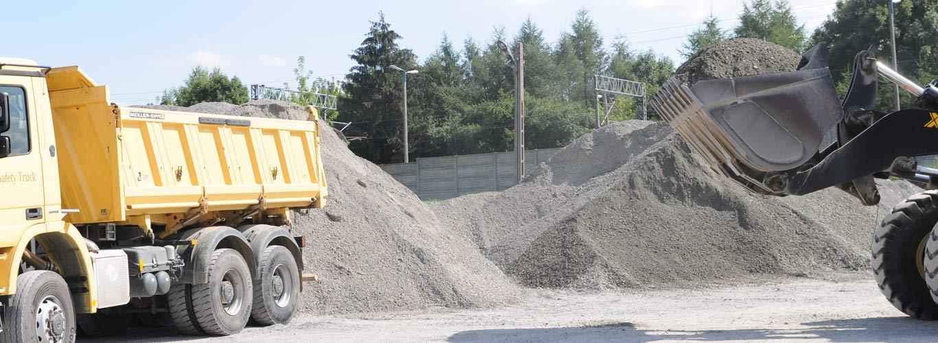 Utwardzanie dróg lubelskie / Lublin Migrola. Podbudowa i utwardzanie dróg