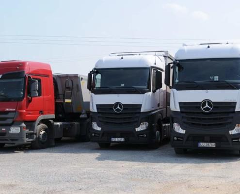 transport ciężarowy MIGROLA