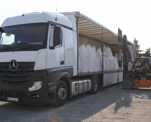 Transport ciężarowy lubelskie MIGROLA. Przewóz nawozów