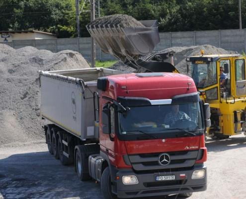 transport towarowy lubelskie MIGROLA. Transport kruszywa. Podbudowa i utwardzanie dróg lubelskie